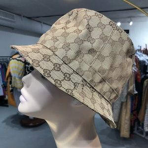 2a1d832f9b7 Authentic Gucci brown monogram bucket hat